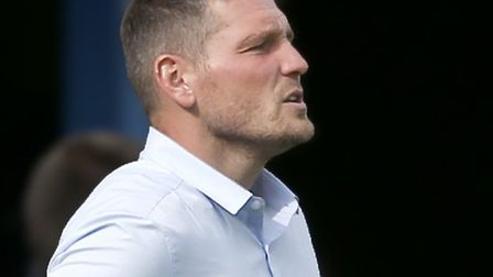 St Albans City joint manager Jimmy Gray