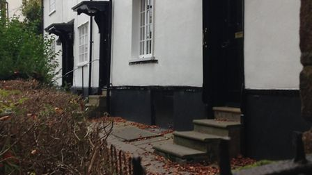 A ghostly Latin-speaking monk has been seen in this property