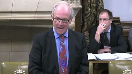 Peter Lilley MP discussing the legalisation of cannabis in parliament
