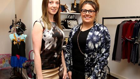 Kerry-Ann Oakman, Owner of Madisons & Co with General Manager, Lauren McCann