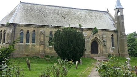 Church of St Thomas, in Ramsey St Mary.
