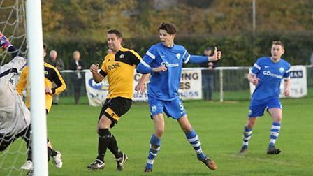 Tom Smith puts Colney into the next round of the FA Vase