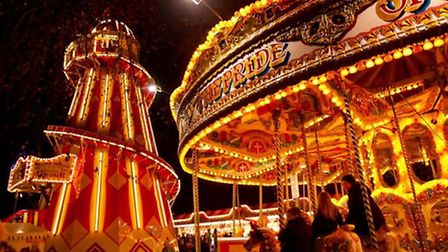 Enjoy a variety of rides including a carousel, slides, dodgems and Polar Express at the North Pole C