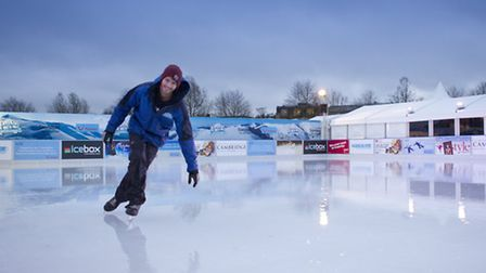 Get your skates ready, the North Pole Cambridge Christmas Festival has an open air ice rink.
