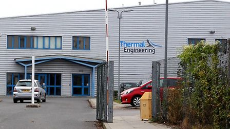 Thermal Engineering in Royston had a chemical spill at the building on Saturday