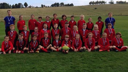 Greneway School Year 5 and 6 Tag Rugby team North Herts U11 Championships