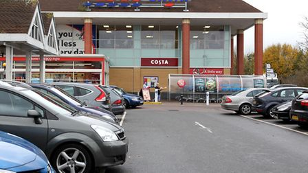 Tesco on Old North Road in Royston
