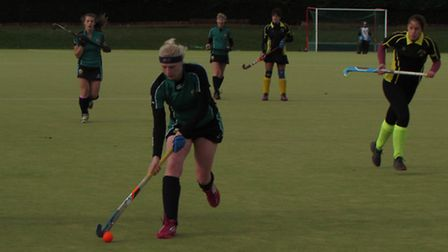 Louisa Scotney scored for St Ives Ladies 2nds.