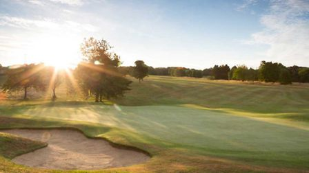 Redbourn golf course with its two fairways is well-known nationally
