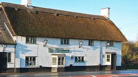 The Chequers, on Redbourn's 'street of inns'