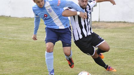St Ives Town midfielder Jack Higgs faces a long spell on the sidelines.