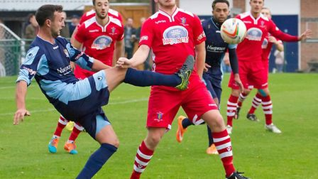 Josh Beech has been released by St Neots Town. Picture: CLAIRE HOWES