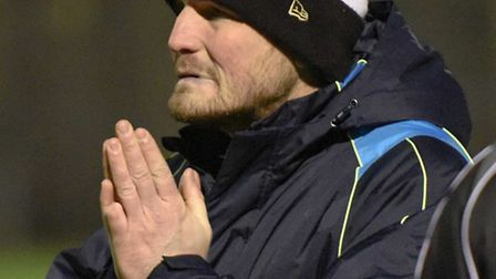 St Albans City's joint-manager Jimmy Gray. Picture: BOB WALKLEY