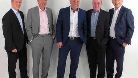 Synergy''s new look management team (from left): Ben Pears, Mark Turner, Alan Hubbard, Steve Wyatt a