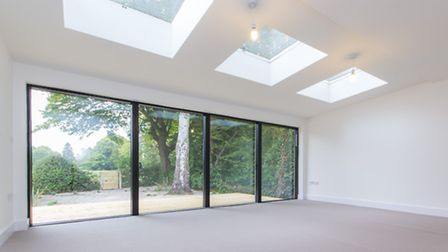 Blank canvas: this newly built home is light and spacious