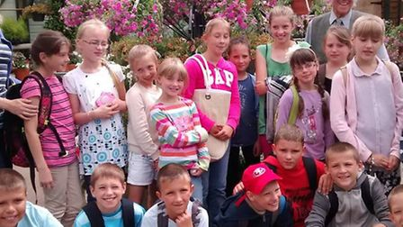 Friends of Chernobyl's Children guests last year.
