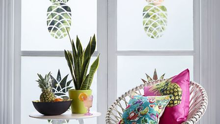 Pineapple design (FB021), from The Window Film Company.