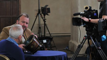 The BBC Flog It experts take a look at items brought in to St Albans Abbey
