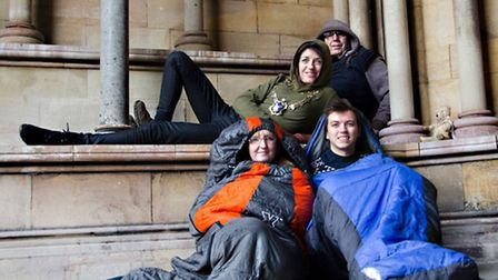 Are you brave enough to face the Sleepout? Former St Albans mayor Annie Brewster, former deputy mayo