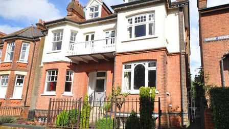 Church Crescent - a balconied townhouse