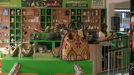 The Wood Green animal shelter charity shop needs volunteers
