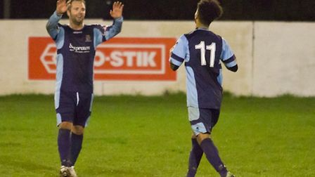 Lee Clarke of St Neots Town. Picture: CLAIRE HOWES