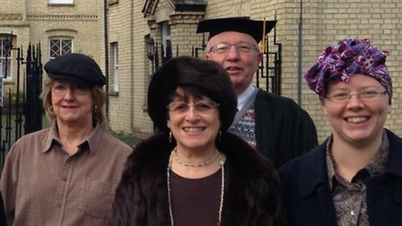Some of the volunteers who support the work of the Royston & District Museum & Art Gallery