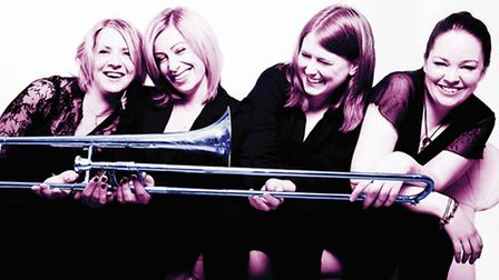 Becky Smith, who grew up in Royston, is a member of the Bones Apart Trombone Quartet