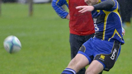 Jim Robinson kicked two conversions to help St Ives to victory.