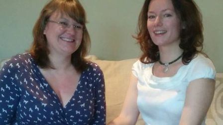 Managing director Jayne Bratton with marketing assistant Claire Humphries.