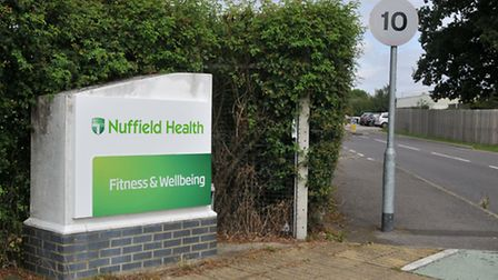 The entrance to Nuffield Health