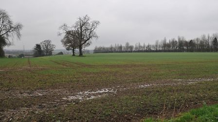 Green belt land around Redbourn outlined in St Albans district council's Strategic Local Plan for ar