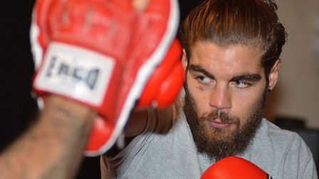 Tyler Goodjohn wants to challenge for welterweight titles. Picture: HELEN DRAKE