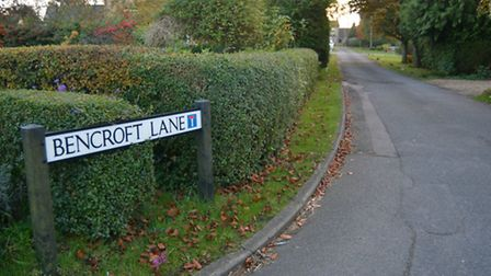 A cannabis farm was discovered in Bencroft Lane, Warboys.