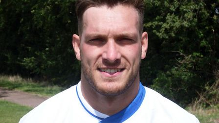Matty Bannister hit a hat-trick for Eynesbury Rovers.