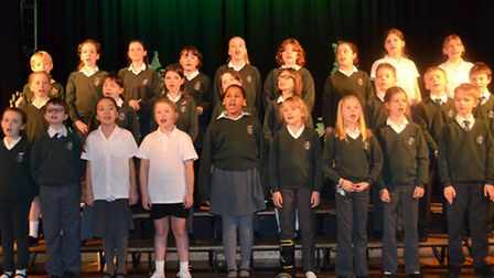 Greneway Middle School, Royston, Christmas production