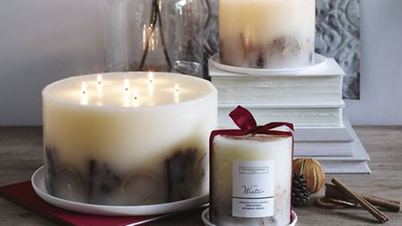 Botanical winter candles from The White Company (PA Photo/Handout)