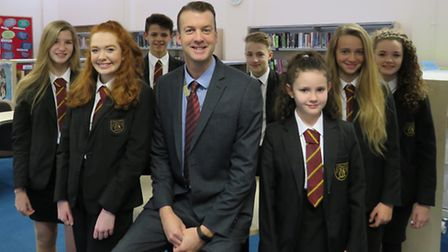 Bassingbourn Village College is now ranked amongst the top nine per cent of schools in England. Pict