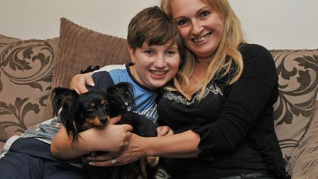Zach and mum Tricia Cohen-Harris who is also his full time carer is trying to raise enough money to
