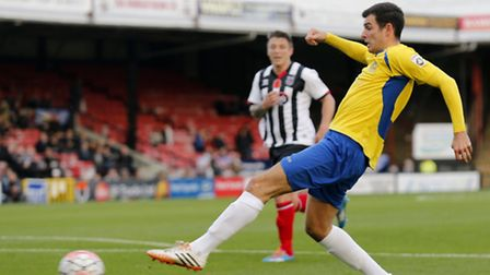 Graeme Montgomery has been recalled from his loan spell by parent club, Boreham Wood. Photo: LEIGH P
