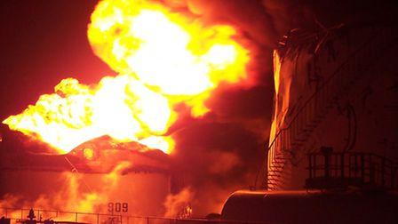 December 11, 2015, marks ten years since the explosion and fire near Redbourn, at the Buncefield Oil
