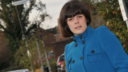 Tina Batchelor has been worried by the street lamps in St Albans being turned off early leaving her
