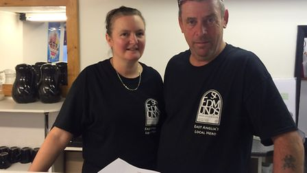 Terry and Michelle are excited to be opening the doors of new cafe The Cavern.