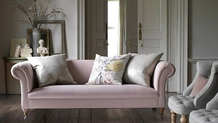 Barber and Osgerby Sofa in Velvet, Corner with Chaise from £6250, NW3 Interiors