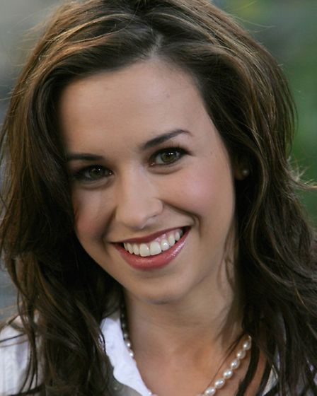 Lacey Chabert of movie hits Mean Girls and Matchmaker Santa