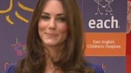 The Duchess of Cambridge is a patron of East Anglian Children's Hospices, which cares for life-limit