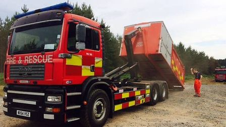 Cambs Fire & Rescue Incident Response Unit,