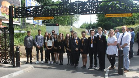 Marlborough Science Academy in St Albans gained second place in the awards
