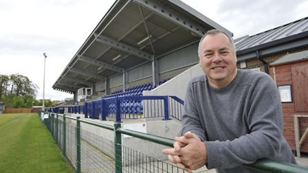 St Neots Town outgoing owner and chairman Mike Kearns.