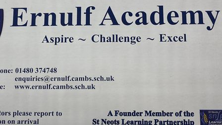 Ernulf Academy in St Neots.